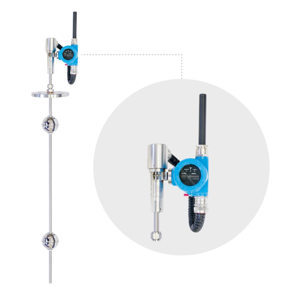 Датчики уровня магнитострикционные ПЛП БИВ-2