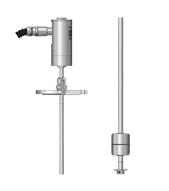 Датчики уровня магнитострикционные в специальном корпусе